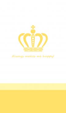 HAPPY CROWN -yellow- 画像(1)
