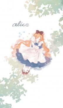 アリスのシンプルきせかえ#水彩タッチ 画像(1)