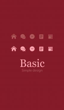 Basic [Bordeaux] 画像(1)