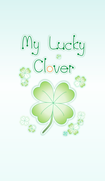 My Lucky Clover! (Green V.8)の画像(表紙)