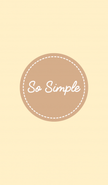 So simple - Beige and Brown 画像(1)
