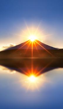 運気上昇!ダイヤモンド富士 画像(1)