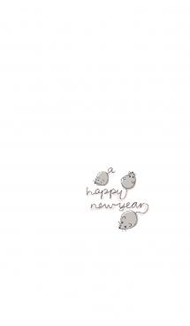 ネズミ年でチュー♪#子年(ねずみどし)