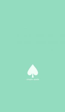 simple spade (#mintgreen)