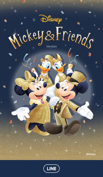 ミッキー&フレンズ(キラキラパーティー)の画像(表紙)