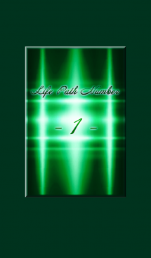 Life Path Numbers -1-Green 画像(1)