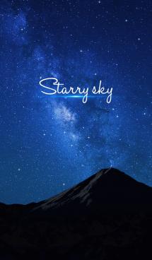 『綺麗な星空』 画像(1)