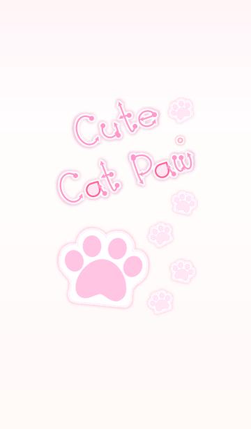 Cute Cat Paw 2! (Pink Ver.3)の画像(表紙)