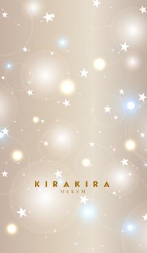 KIRAKIRA -BROWN GOLD STAR- 12