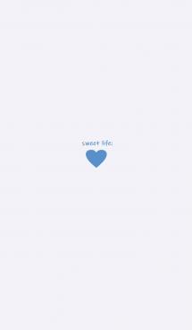 sweet life heart :)blue*