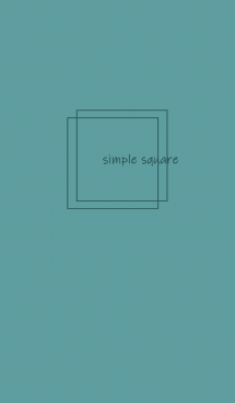 simple square =green=*