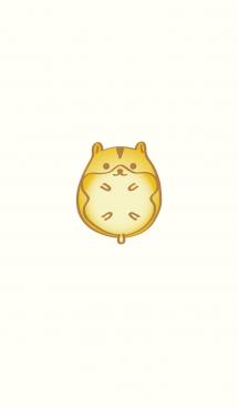 ゴールデンハムスター-幸運のフル(黄色)