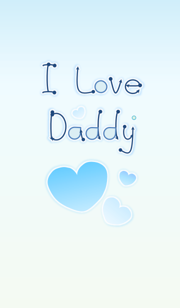 I Love Daddy 2! (Blue Ver.4)の画像(表紙)