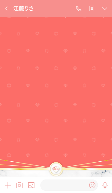 Shining Pure Jewel poppy redの画像(トーク画面)