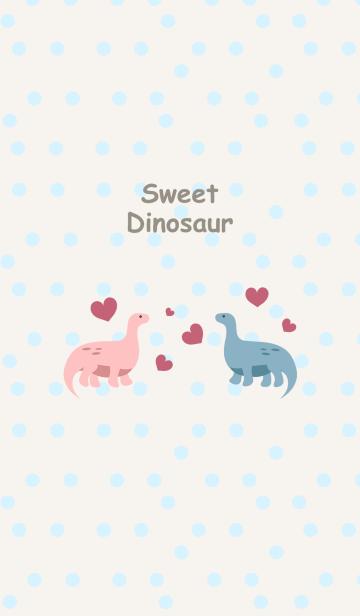 かわいい恐竜カップルの画像(表紙)