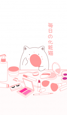毎日の化粧猫 画像(1)