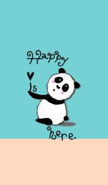 幸せはこちらにございます*ハッピーパンダ 画像(1)