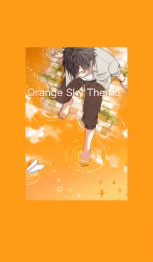 Orange Sky Theme 画像(1)