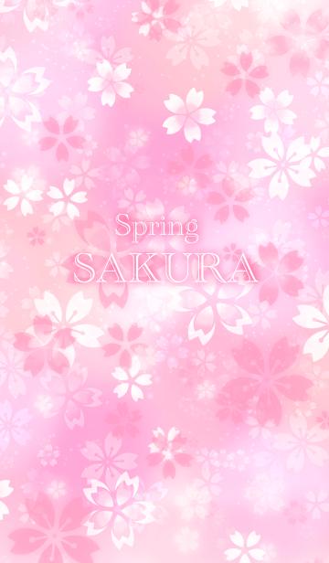 [LINE着せかえ] 桜色のきせかえ。の画像
