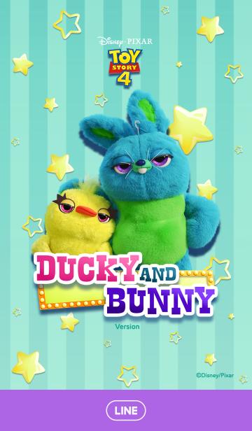 [LINE着せかえ] ダッキー&バニーの画像