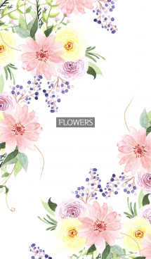water color flowers_1132 画像(1)