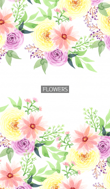 water color flowers_1133 画像(1)