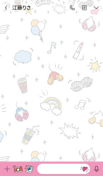 ミッキー&フレンズ(OSHIRI♪)の画像(トーク画面)