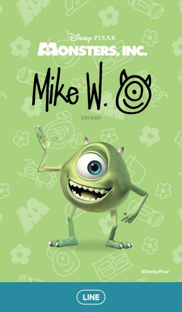 [LINE着せかえ] モンスターズ・インク(マイク)の画像