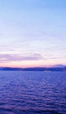 夕日 スマイル 画像(1)