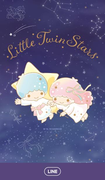 [LINE着せかえ] リトルツインスターズ 星座の画像